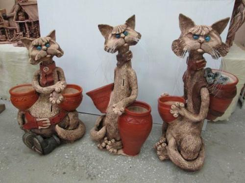 Коты - копилки