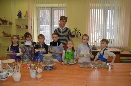 Экскурсия в гончарной мастерской