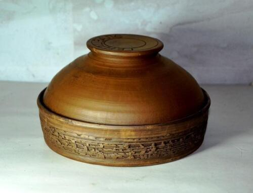 тарелка с крышкой для приготовления в духовке