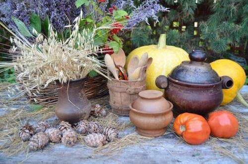 В саду у гончара