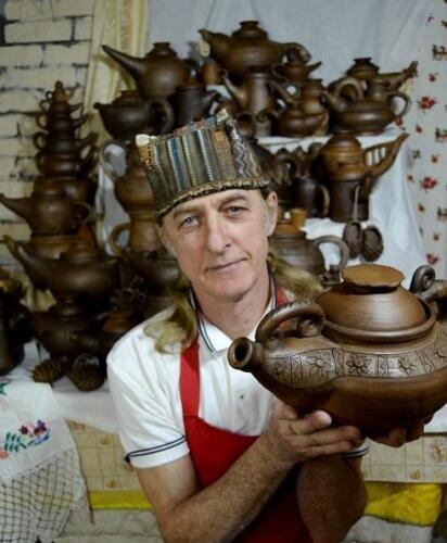 Юрий Белетей и его чайники