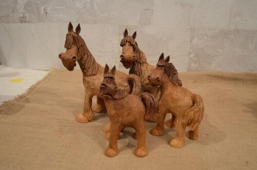 Глиняная лошадка