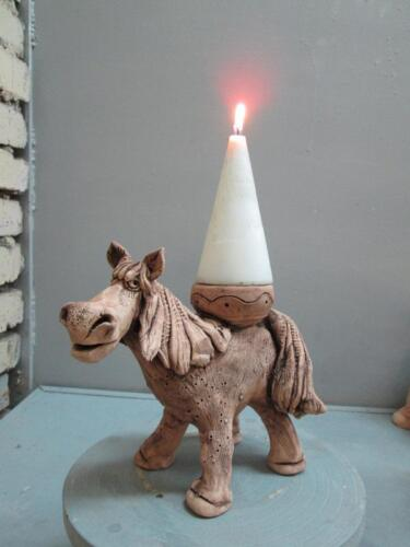 Лошадь - подсвечник