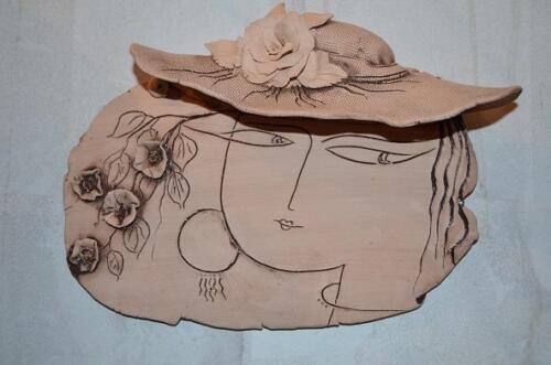 керамическая открытка