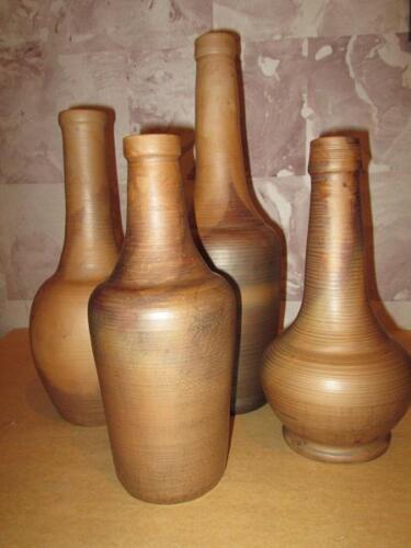 Глиняная бутылка