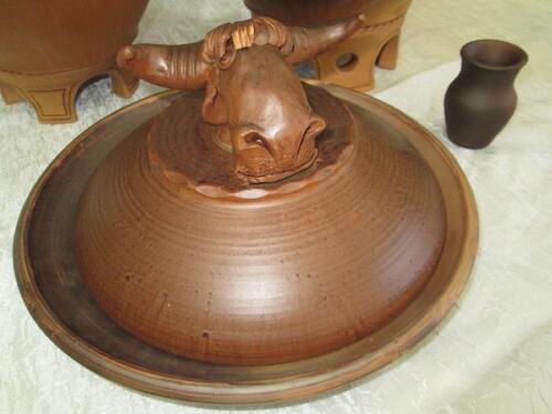 Глиняная сковорода