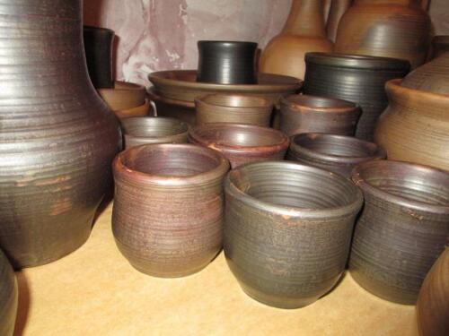 Глиняные чайные чашки