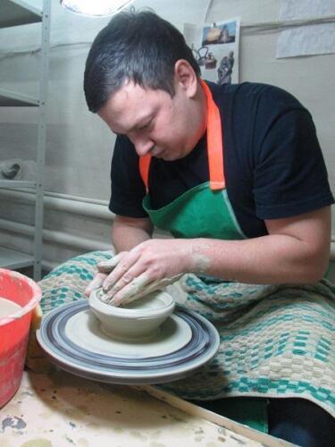 Подарок-приключение в гончарной мастерской