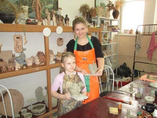 Приключение в гончарной мастерской