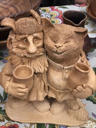 Домовой и кот Баюн