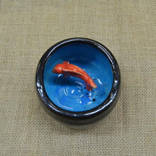 Волшебная миска с рыбкой