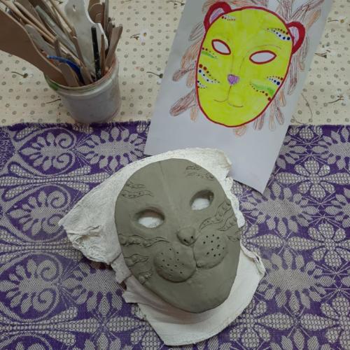 Декоративные маски