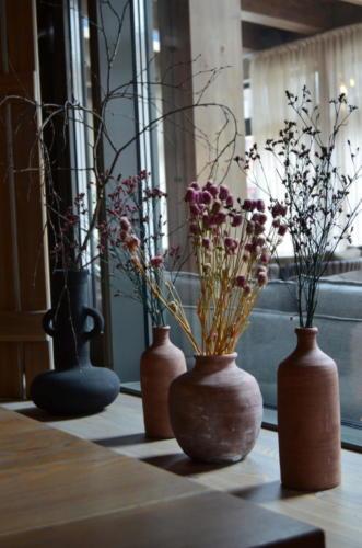 Керамические вазочки для сухостоев