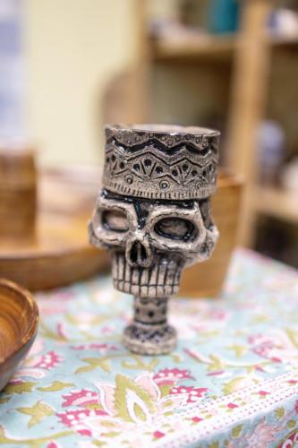 Бокал-череп