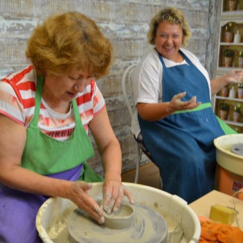 Мастер-класс в гончарной мастерской