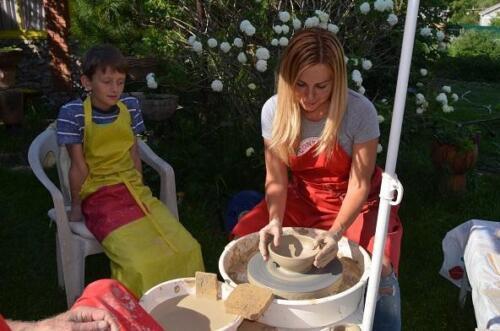 Творим у саду у гончара