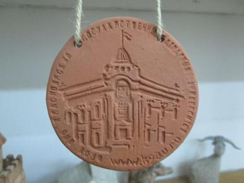 Медальоны для приемной комиссии агроуниверситета